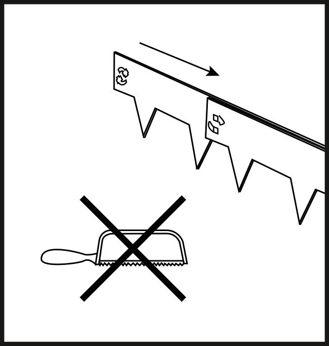 Multi-Edge METAL aanleg stap 5