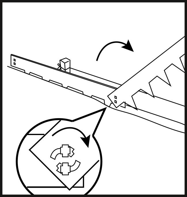 Multi-Edge METAL installation step 2