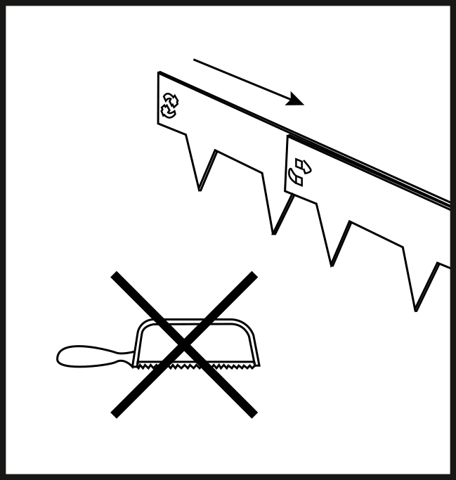 Multi-Edge METAL installation step 5