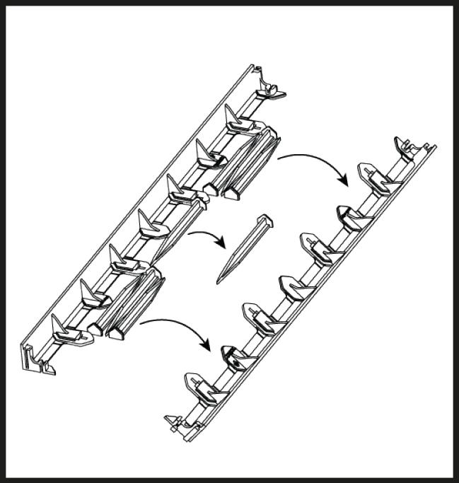 Multi-Edge FLEX Aufbau Schritt 2