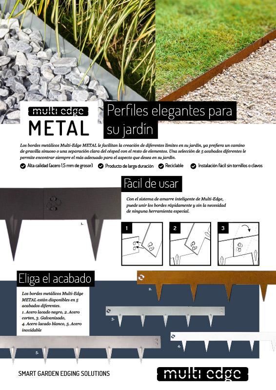 Manual de instrucciones de Multi-Edge METAL