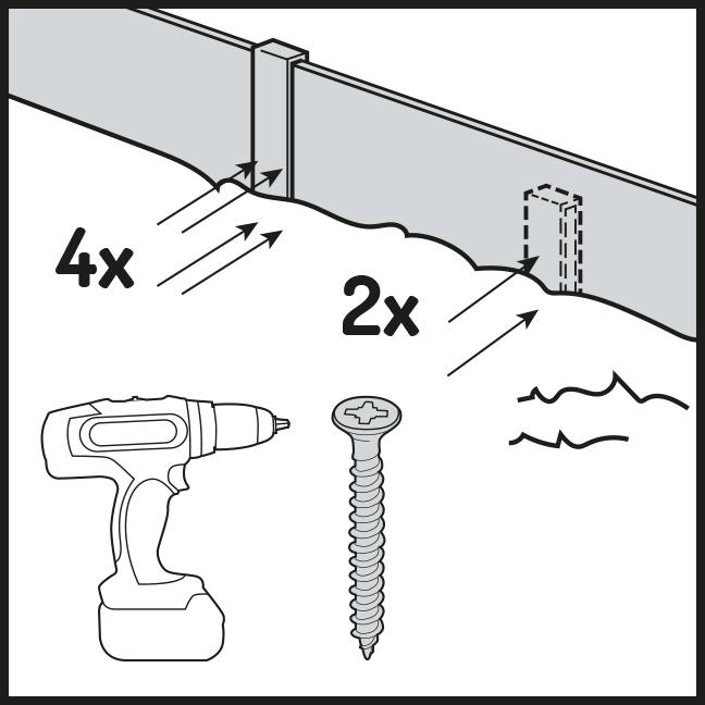 Multi-Edge ECO aanleg stap 5